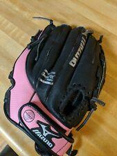 "Mizuno Prospect Gpp1105 11"" Pink/Black Youth Softball Glove Right Hand Throw Rht"