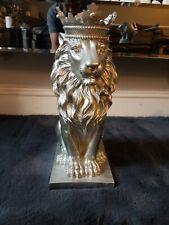 Rubber Latex Mould Mold Lion Statue Figurine Concrete Moulding Ornament Casting