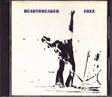 Free Heartbreaker Japan 1st CD 1988 P32D 25053