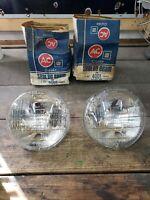 2 NOS AC Guide 4001 Sealed Beam Headlights GM 5965416 5001 12 V 73-77 Corvette