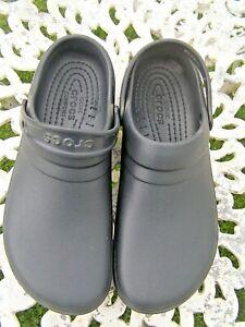 Crocs  Black Work Clogs size 12