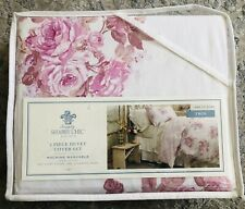 New Simply Shabby Chic 2 Piece Twin Duvet Cover Set