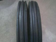 ONE 400X19, 4.00-19, 400-19 F2 Triple Rib FORD 2N 9N Front Tractor Tire w/Tube