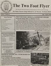 The 2 Foot Flyer - Maine Narrow Gauge Railroad Company And Museum V7 #4