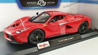 MAISTO 1:18 Scale - Ferrari Laferrari- Red - Diecast Model Car