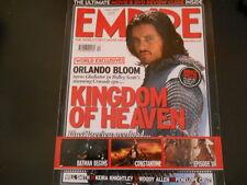 Christian Bale, Woody Allen, Orlando Bloom, Keanu Reeves - Empire Magazine 2005