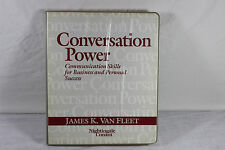 Conversation Power 6-Cassette Home Study Course ~ Van Fleet