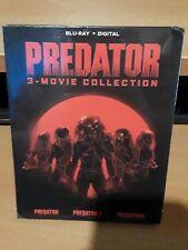 Predator 3-Movie Collection Blu-ray Digital 1 2 3  Sci-Fi Horror