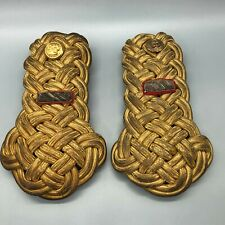 Pre WW2 USMC First Lieutenant Shoulder Knot Pair