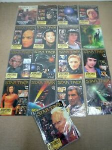 STAR TREK THE COLLECTORS EDITION MAGAZINES / 27 ISSUES / NUMBERS 18-44