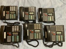 LOT 6 Nortel Norstar M7310 Meridian 10 Button Digital Phone - 1 bid for 6 phones
