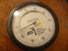 Rockwell Hardness Tester Gauge Acco Wilson Instrument Division Zerominder 3