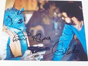 Autogramm Star Wars - Paul Blake - Geedo - Bild 24x19cm original signiert