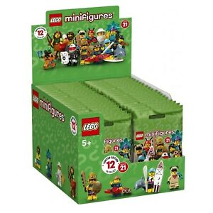 Lego Series 21 Collectible Minifigures Sealed Box Case of 36 Minifigures 71029
