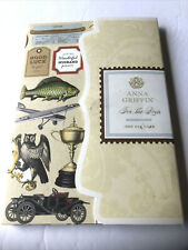 """NEW Anna Griffin """" For The Boys """" 396 Cardstock Die Cuts 2014"""