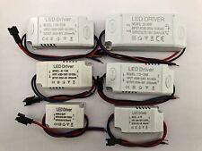 1-3W 4-7W 8-12W 12-18W 36W 300mA AC-DC Transformator LED Driver Netzteil Trafo