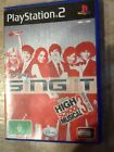 PlayStation 2 PS2 - Disney Sing It - High School Musical 3 - Game + Booklet