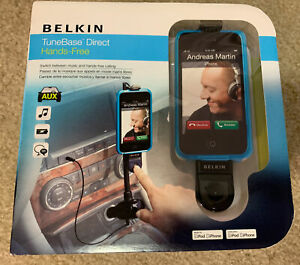 Belkin TuneBase Direct Hands-Free F8Z442ttP BRAND NEW/SEALED