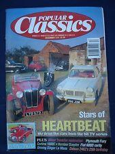 Popular Classics magazine - December 1994 - MGA - Singer Le Mans - 240Z - Fury