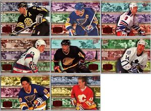 1994-95 ULTRA RED LIGHT SPECIALS INSERT CARDS - PICK SINGLES - FINISH SET Rare