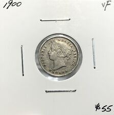 Canada 1900 Ten Cents Silver 10 Cent VF