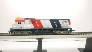 Tyco HO Train Spirit of 76 Bicentennial Alco Century 430 Dummy Diesel Locomotive