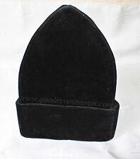 READY TO SHIP! Men's Russian Style Skufia (Calotte) in Black Velvet, Size 59 cm
