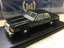 Best Of Show 1/43 1987 Ford LTD Crown Victoria - Black - MIB Men In Black Car ?