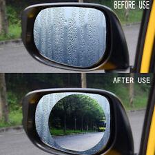 2x Car Waterproof Mist Film Anti Rainproof Rearview Mirror Glass Protective Film