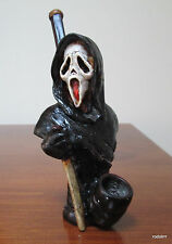 Collectible Ghost Face Scream Tobacco Pipe Handmade and Painted Smoking
