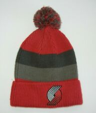 PORTLAND TRAIL BLAZERS Red Oregon NBA BASKETBALL BEANIE Warm Winter Ski Hat Cap