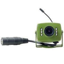 WIRELESS Uccello BOX CAMERA 700TVL con Visione Notturna & AUDIO (solo TELECAMERA)