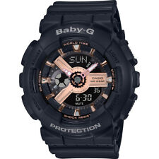 Casio BA-110RG-1A G-Shock Baby-G Black Running Series Ladies Watch