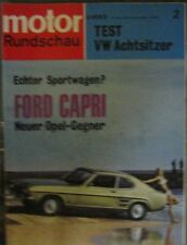 * Motor-Rundschau 2  / 1969 -  Ford Capri - VW Bus T2 Clipper *