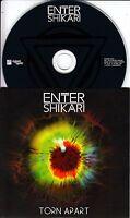 ENTER SHIKARI Torn Apart 2015 UK 2-track promo CD
