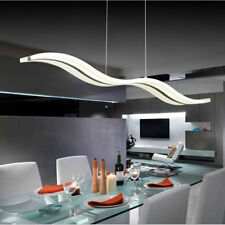Wave LED Acrylic Pendant Lamp Restaurant Living Room Ceiling Light Home ##