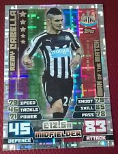 Match attax 2014 2015 Remy Cabella Man of the Match 384 Newcastle United