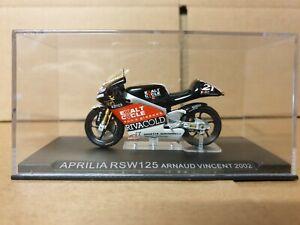 Aprilia RSW125 Arnaud Vincent 2002 Diecast motorcycle