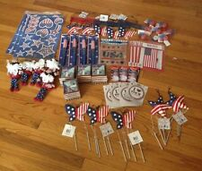 NWT LOT OF NEW JULY 4TH DÉCOR AND GIFT ITEMS