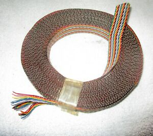 One Vintage Roll of 26 Wire Cloth Bound Ribbon Wire