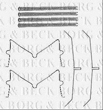 BBK1588 BORG & BECK FITTING KIT for BRAKE PADS fits Toyota Hi-Lux 2.5D-4D 08/05-