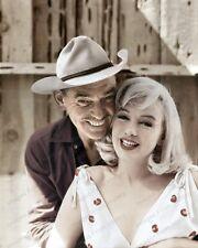 8x10 Print Clark Gable Marilyn Monroe Misfits 1961 #CG