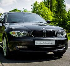 Eyebrows for BMW 1 E81 E82 E87 E88 2004-2010 headlight eyelids lids ABS Plastic