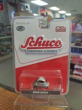 Schuco 164 Mijo European Classics Bmw Isetta Green With Cream Roof 3800 Chase