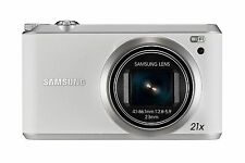 Samsung WB Series WB350F 16.3MP Digital Smart Camera - White  UK STOCK