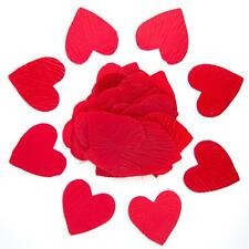 Red Heart Shaped Silk Petals