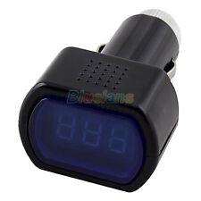 Automotive Volt Meter Monitor Digital Lcd Cigar Lighter Car Voltage Panel Hot