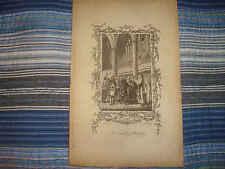 1775 ANTIQUE NUREMBERG GERMANY MARRIAGE WEDDING PRINT