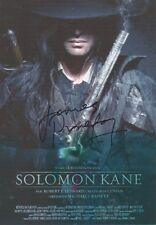 JAMES PUREFOY Signed 12x8 Photo SOLOMAN KANE & THE FOLLOWING COA
