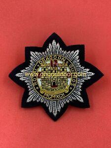 Royal Dragoon Guards Hand Embroidered Bullion & Wire Blazer Badge RDG Badge
